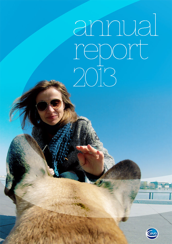 Ceva Group, Annual Report cover proposal