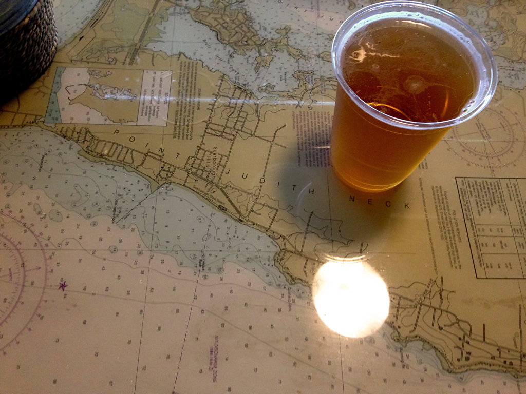 Beer on Map table